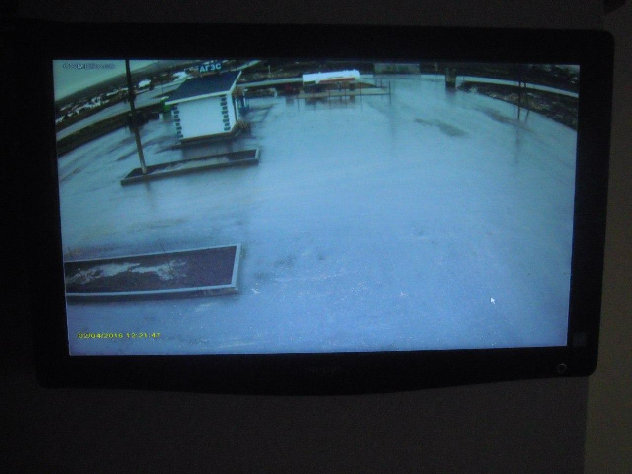 Видеонаблюдение для стоянки грузовиков