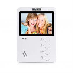 """Цветной видеодомофон SVM-414 (white) диагональ экрана 4,3"""""""