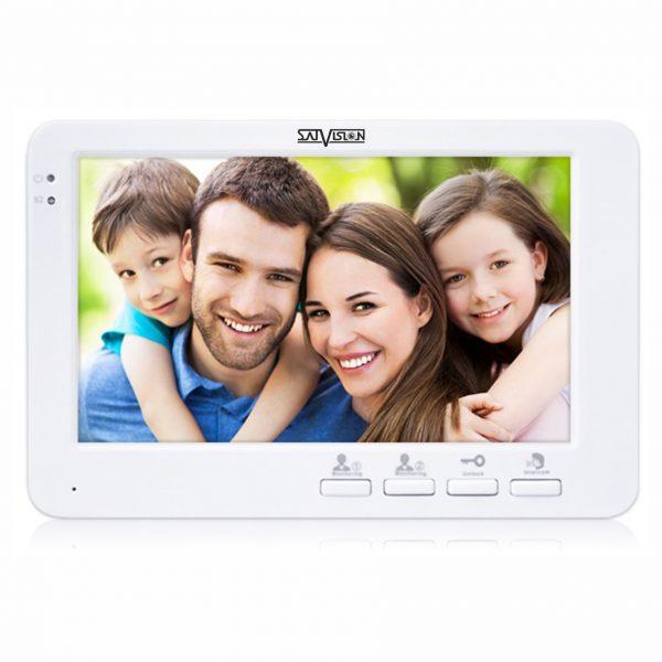 """Цветной видеодомофон SVM-716 (white) диагональ экрана 7"""""""