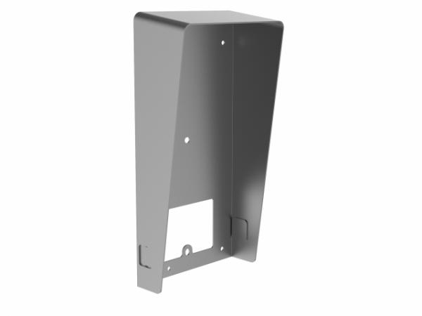 DS-KABV8113-RS/Surface - Козырек для настенного монтажа вызывной панели серии DS-KV8x13 серии. Материал: металл, SECC; Рабочая температура от -40℃ до 60℃, влажность с 10% до 95%; Размер 189 x 97 x 49мм; . Настенный монтаж.